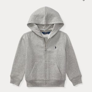 Polo toddler boy zip up hoodie